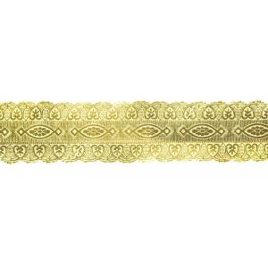 Culpitt Embossed Foil Banding - Gold - 25mm x 100m