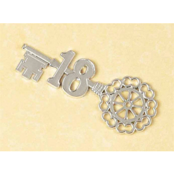 Culpitt Decoration / Motto - 18 Key - Silver (Pack of 50)