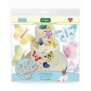 Katy Sue Designs Silicone Embossers - Butterflies