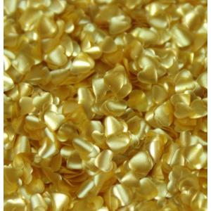 Rainbow Edible Shapes - Hearts - Gold
