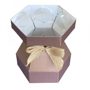 Purple Cupcakes - Cupcake Bouquet Box - Rose Gold