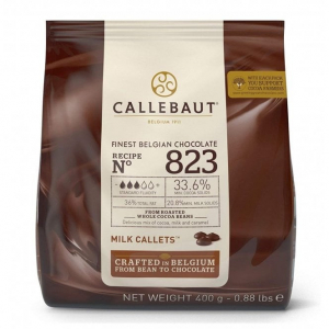 Callebaut Finest Belgian Chocolate - Milk (400g)