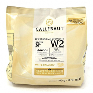 Callebaut Finest Belgian Chocolate - White (400g)