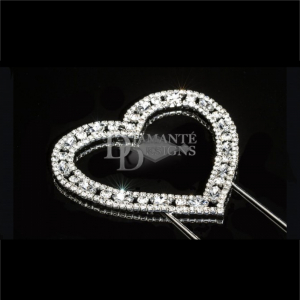 Diamante Designs Pick - Decorative Heart - Large
