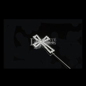 Diamante Designs Pick - Cross - Open