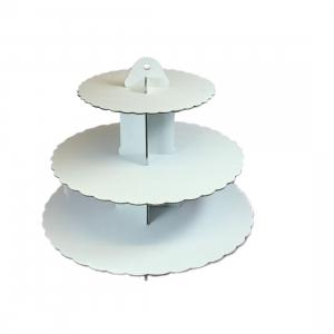 Culpitt 3 Tier Cupcake Stand - White