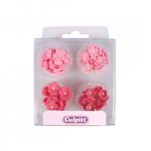 Culpitt Mini Sugar Flowers - Blossoms - Pinks