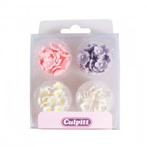 Culpitt Mini Sugar Flowers - Blossoms - Multi Colours