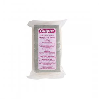 Culpitt Modelling Paste - Silver (100g)