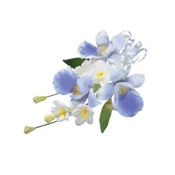 Culpitt Gum Paste Flower - Orchid Spray - Lavender