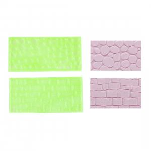 FMM Impression Mats - Set 2 - Cobblestone And Stone Wall