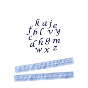 FMM Cutter Set - Alphabet Lower Case - SCRIPT