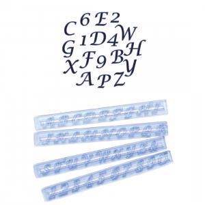 FMM Cutter Set - Alphabet Upper Case & Number - SCRIPT