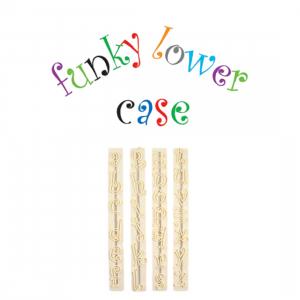 FMM Cutter Set - Alphabet Lower Case - FUNKY
