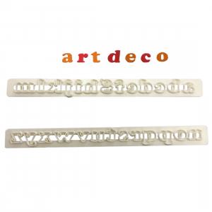 FMM Cutter Set - Alphabet Lower Case - ART DECO