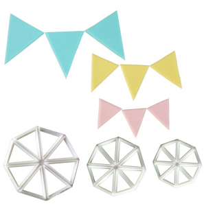 FMM Cutter - Easy Bunting Cutters (Set of 3)