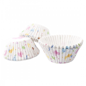 Club Green Baking Cases - Baby Shower (Pack of 100)