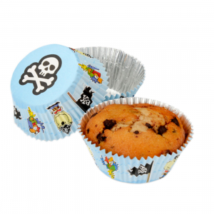 Club Green Staybright Cupcake Cases - Pirate (Pack of 100)