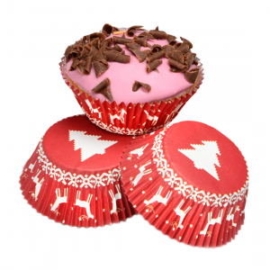 Club Green Staybright Cupcake Cases - Nordic Christmas (Pack of 50)