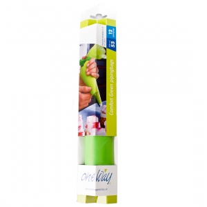 """One Way Comfort Piping Bags - Green - 21"""" (Roll of 12)"""