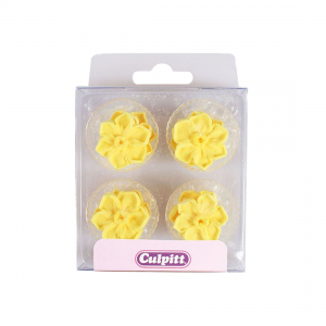 Culpitt Piped Sugar Flowers - Daffodils (Pack of 12)