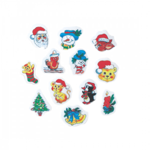 Culpitt Wafer Decorations - Christmas (Pack of 300)