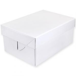 "PME White Cupcake Box - 12 Cavity (5.5"" Deep)"