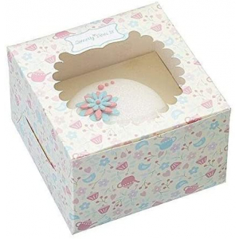 KitchenCraft Presentation Cupcake Boxes (Pack of 4)