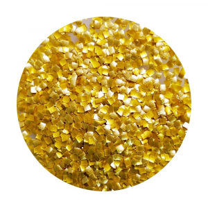 Cake Craft Group Edible Glitter Squares - Gold (7g)