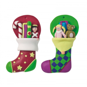 Culpitt Decoration - Christmas Stockings (Pack of 2)