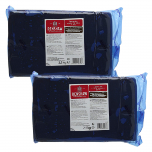 Renshaw Decor-Ice Ready To Roll Icing - Chocolate Flavoured (2 x 2.5kg)