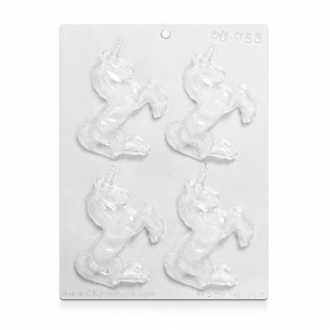 CK Products Chocolate & Candy Mould - Prancing Unicorns