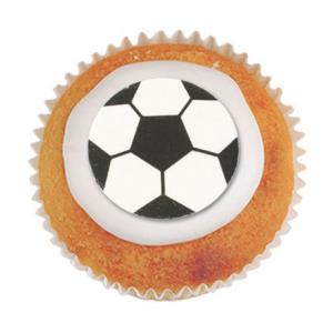 Culpitt Printed Sugar Decorations - Footballs (Box of 405)