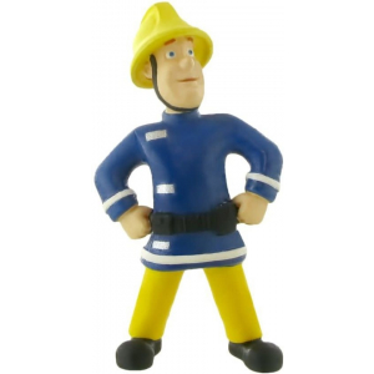 Fireman Sam Figurine - Fireman Sam with Helmet