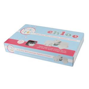 Cake Star Push Easy Alphabet Cutters - Upper Case