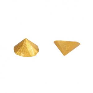 Culpitt Edible Diamond Studs - Gold (Pack of 20)
