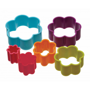 Colour Works Cookie Cutter - Flower (Set of 6)