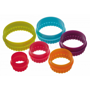 Colour Works Cookie Cutter - Round (Set of 6)
