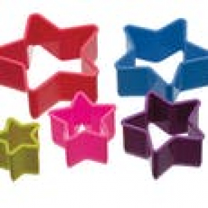 Colour Works Cookie Cutter - Star (Set of 5)