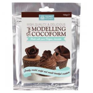 Squires Kitchen Cocoform - Chocolate Modelling Paste - Dark (150g)