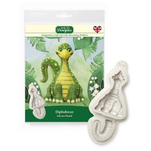 Katy Sue Designs Mould - 3D Dinosaur - Diplodocus