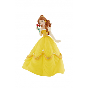 Disney Figure - Beauty & The Beast - Belle with Rose