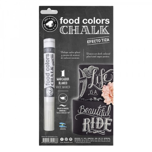 Drip Color Chalk Effect Edible White Ink Marker