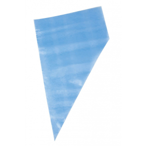 """Kee-Seal Ultra Disposable Non-Slip Piping Bag - Blue - 18"""" (Pack of 72)"""