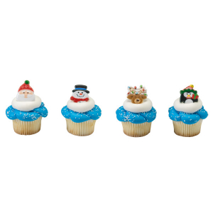 DecoPac Cake Ring Decoration - Holiday Icons (Pack of 144)
