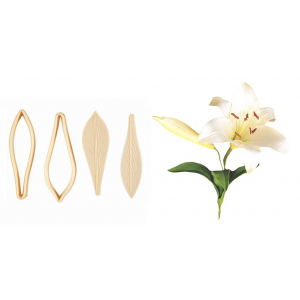FMM Cutter & Embosser Set - Exotic Lily