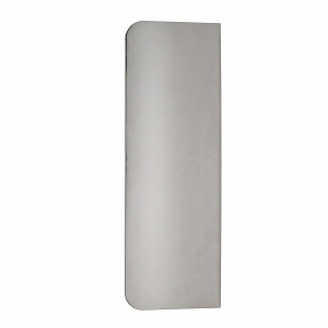 """PME Side Scraper - Plain Edge - Stainless Steel - Extra Tall (10"""")"""