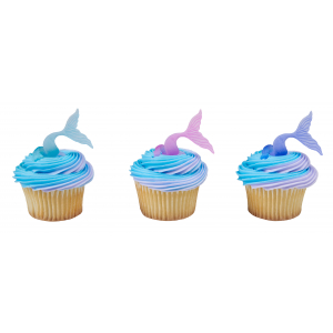 DecoPac Cake Ring Decoration - Mermaid Tail Wraps (Pack of 144)