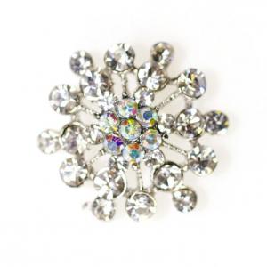 Culpitt Diamante Brooch - Cluster