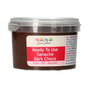 FunCakes Ready To Use Ganache - Dark Choco (260g)